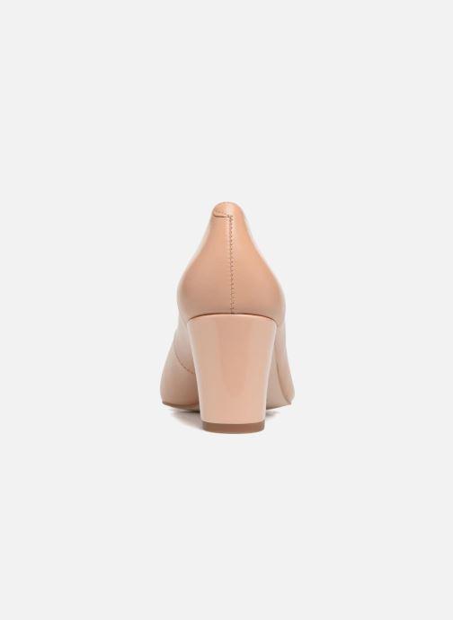 Zapatos de tacón Georgia Rose Sivane Beige vista lateral derecha