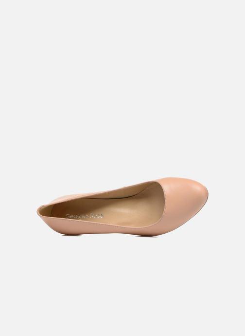 Zapatos de tacón Georgia Rose Sivane Beige vista lateral izquierda