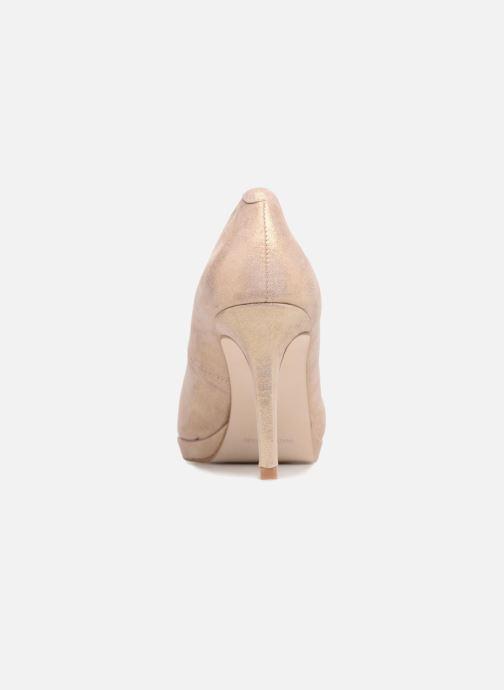 Zapatos de tacón Georgia Rose Serpatin Beige vista lateral derecha