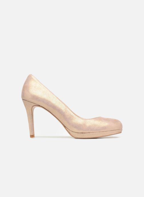Zapatos de tacón Georgia Rose Serpatin Beige vistra trasera