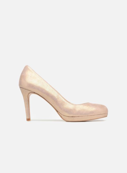 High heels Georgia Rose Serpatin Beige back view