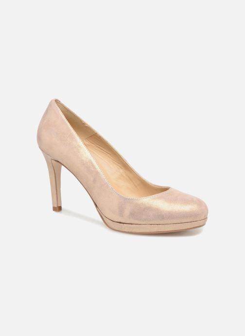 High heels Georgia Rose Serpatin Beige detailed view/ Pair view