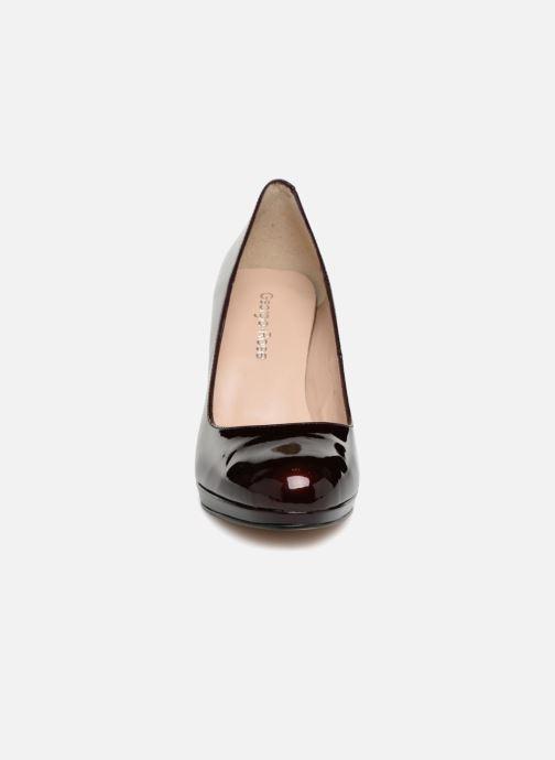 Escarpins Georgia Rose Serpatin Bordeaux vue portées chaussures