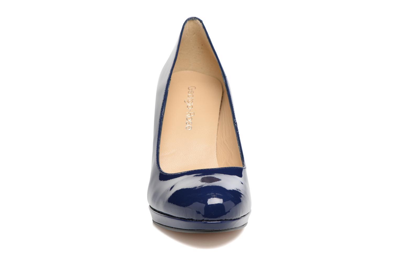 Escarpins Georgia Rose Serpatin Bleu vue portées chaussures