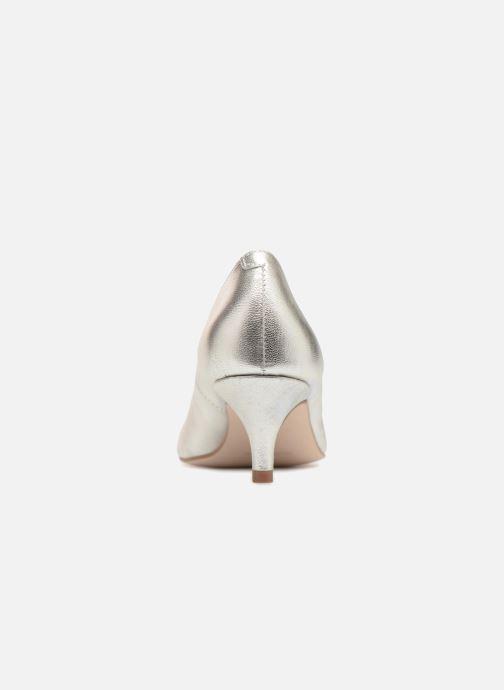 Zapatos de tacón Georgia Rose Svelta Plateado vista lateral derecha