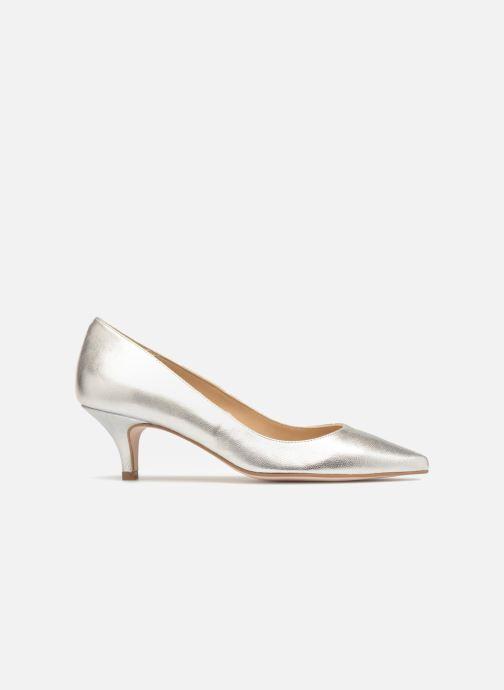 Zapatos de tacón Georgia Rose Svelta Plateado vistra trasera