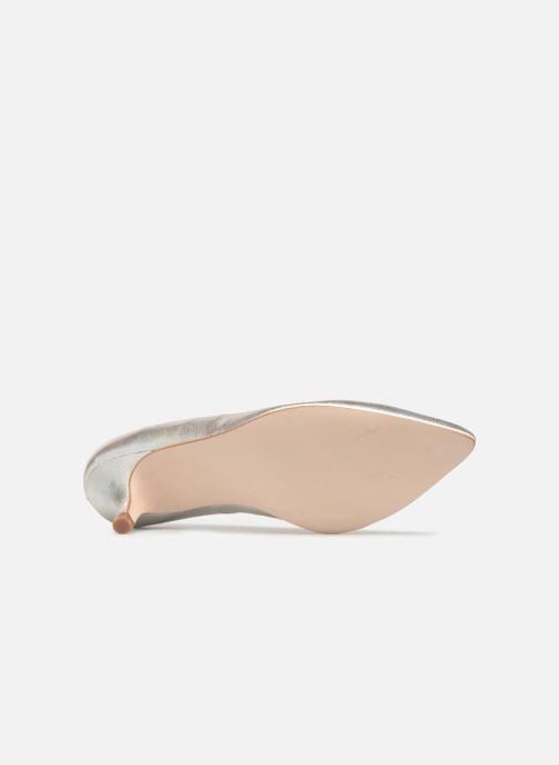 Zapatos de tacón Georgia Rose Svelta Plateado vista de arriba