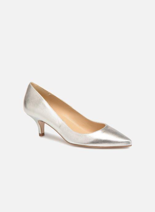 Zapatos de tacón Georgia Rose Svelta Plateado vista de detalle / par