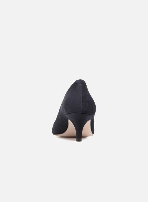 Zapatos de tacón Georgia Rose Svelta Azul vista lateral derecha