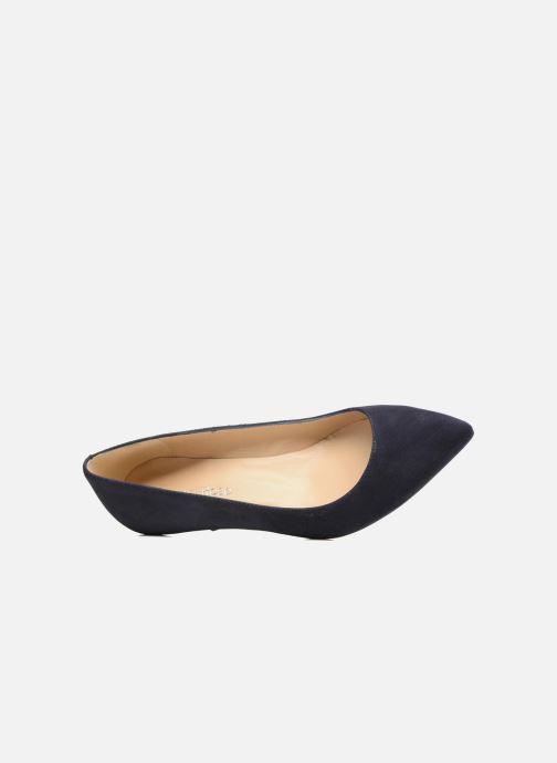 Zapatos de tacón Georgia Rose Svelta Azul vista lateral izquierda