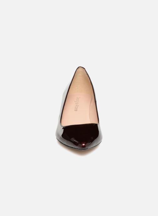 Escarpins Georgia Rose Svelta Bordeaux vue portées chaussures