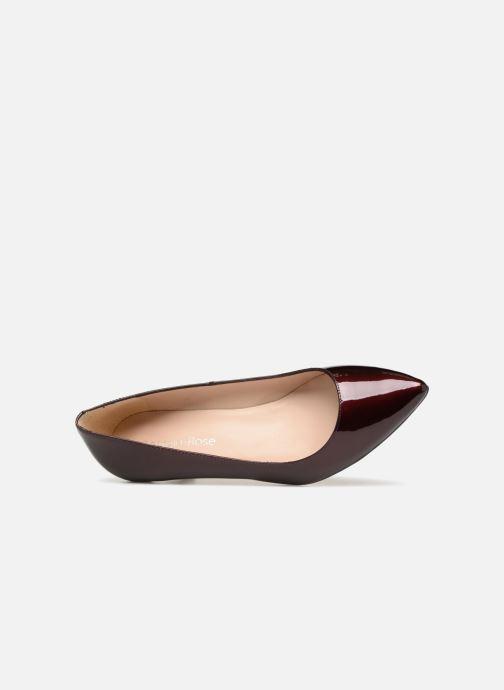 Zapatos de tacón Georgia Rose Svelta Vino vista lateral izquierda