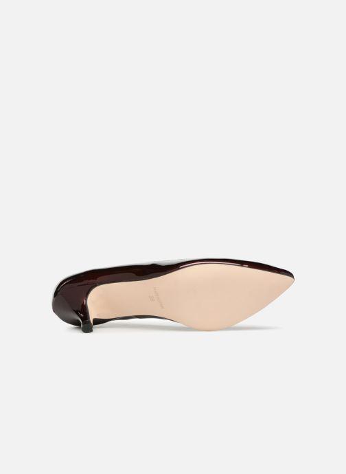 Zapatos de tacón Georgia Rose Svelta Vino vista de arriba