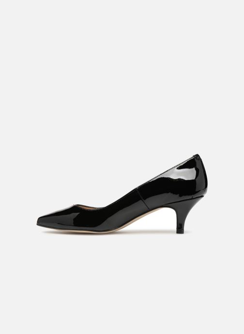 Zapatos de tacón Georgia Rose Svelta Negro vista de frente