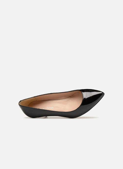 Zapatos de tacón Georgia Rose Svelta Negro vista lateral izquierda