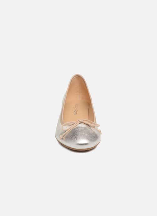 Ballerines Georgia Rose Soleil Or et bronze vue portées chaussures