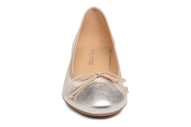 Ballet pumps Georgia Rose Soleil Bronze and Gold model view