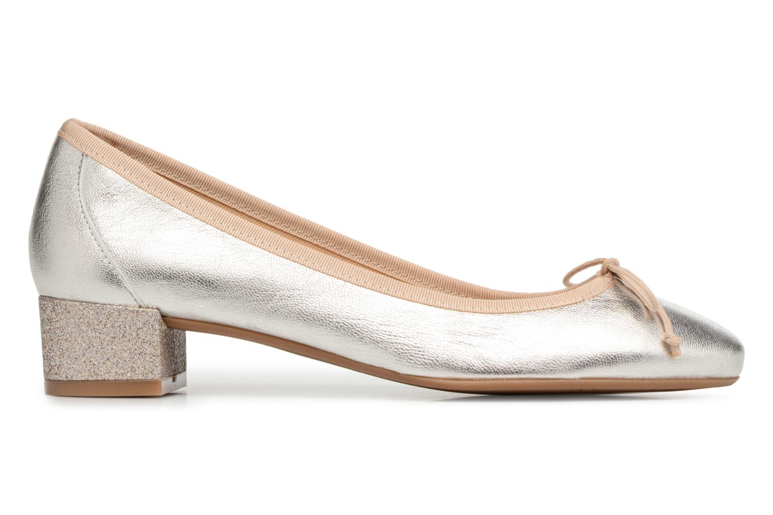 Ballet pumps Georgia Rose Soleil Bronze and Gold back view