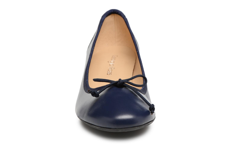 Ballerines Georgia Rose Soleil Bleu vue portées chaussures