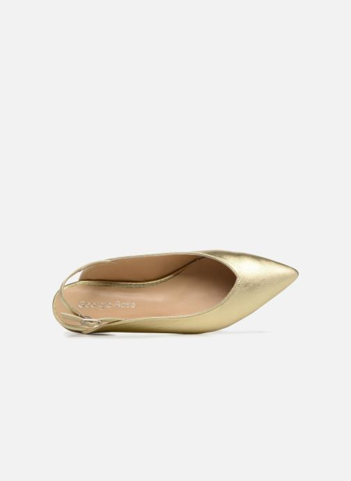 Ballerinas Georgia Rose Sodora gold/bronze ansicht von links