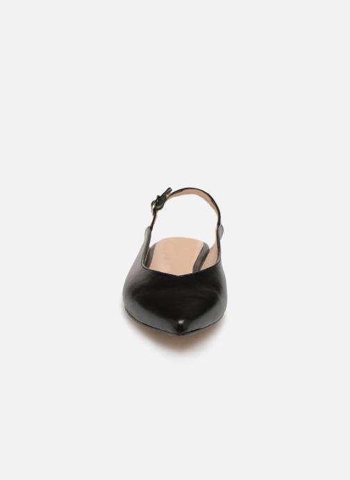 Ballerines Georgia Rose Sodora Noir vue portées chaussures