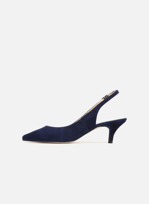 Zapatos de tacón Georgia Rose Sokit Azul vista de frente