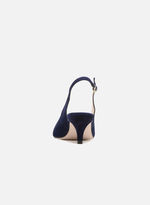 Zapatos de tacón Georgia Rose Sokit Azul vista lateral derecha