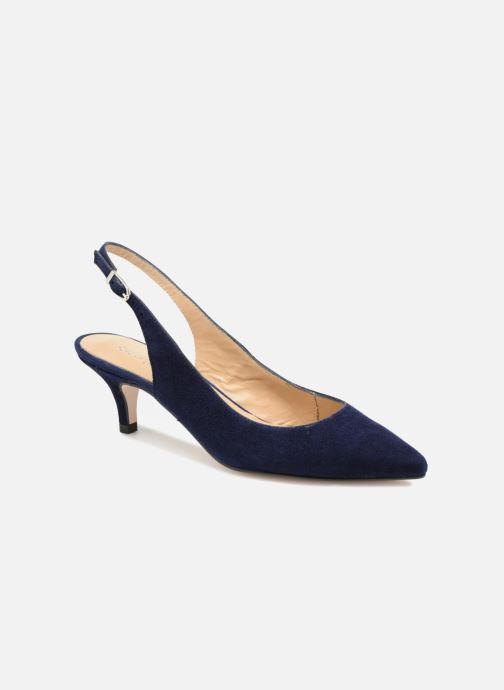 Zapatos de tacón Georgia Rose Sokit Azul vista de detalle / par