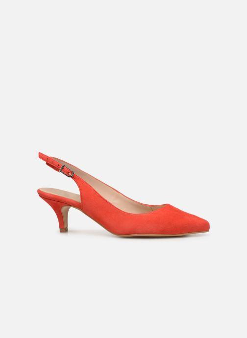 Zapatos de tacón Georgia Rose Sokit Rojo vistra trasera