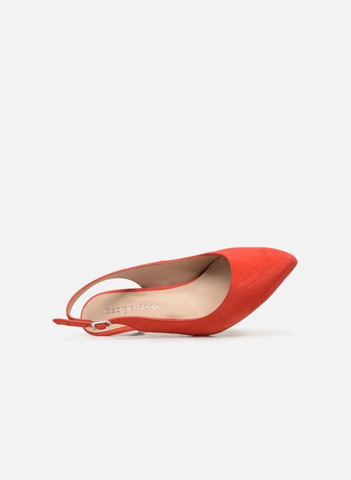 Zapatos de tacón Georgia Rose Sokit Rojo vista lateral izquierda