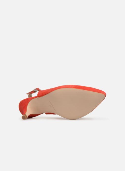 Zapatos de tacón Georgia Rose Sokit Rojo vista de arriba