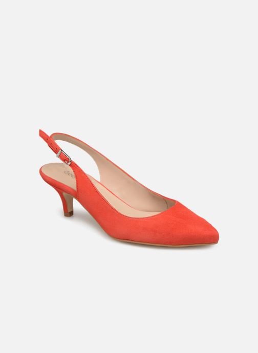 Zapatos de tacón Georgia Rose Sokit Rojo vista de detalle / par