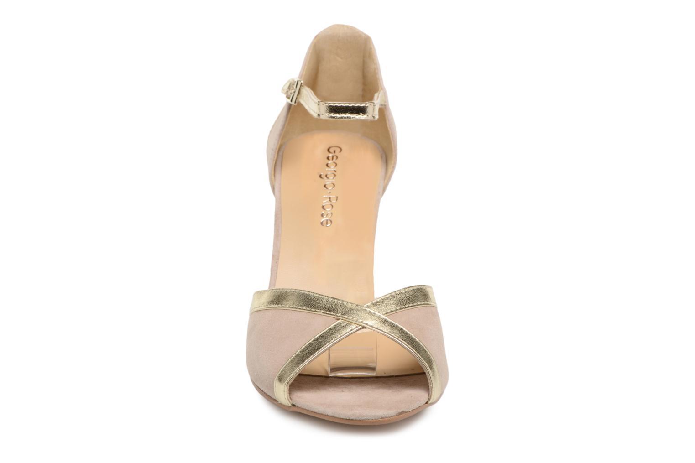 Escarpins Georgia Rose Sabiais Beige vue portées chaussures