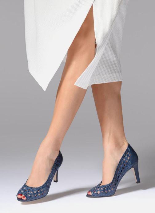 Zapatos de tacón Georgia Rose Sacanvas Azul vista de abajo