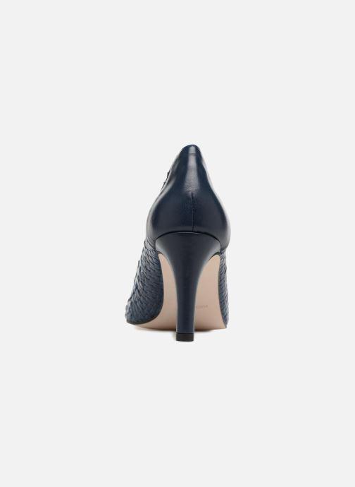 Zapatos de tacón Georgia Rose Sacanvas Azul vista lateral derecha