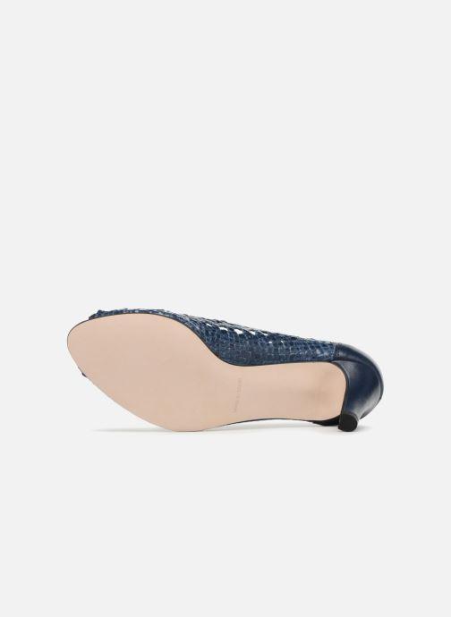Zapatos de tacón Georgia Rose Sacanvas Azul vista de arriba