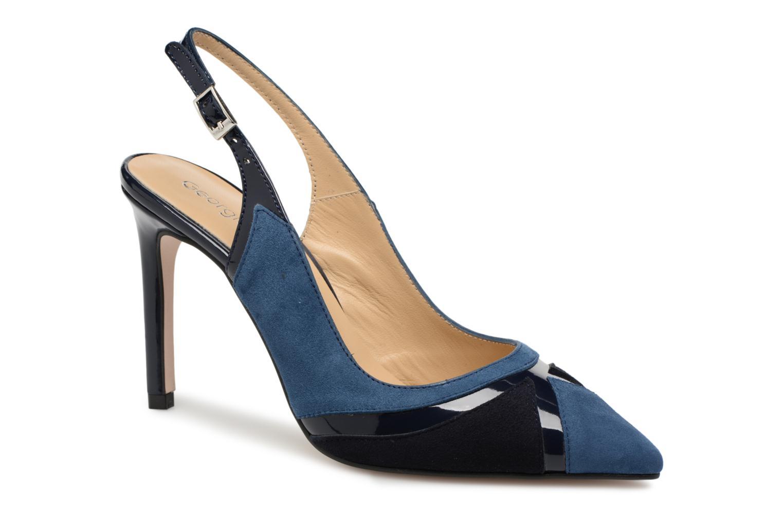 Escarpins Georgia Rose Sapatch Bleu vue détail/paire