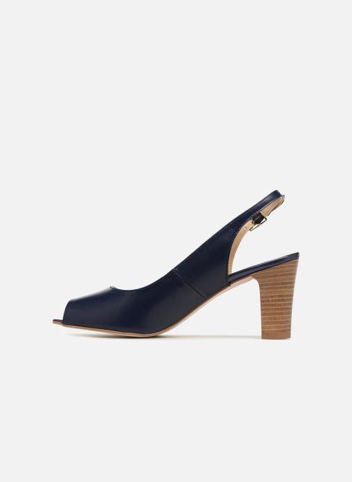 Zapatos de tacón Georgia Rose Soclasse Azul vista de frente