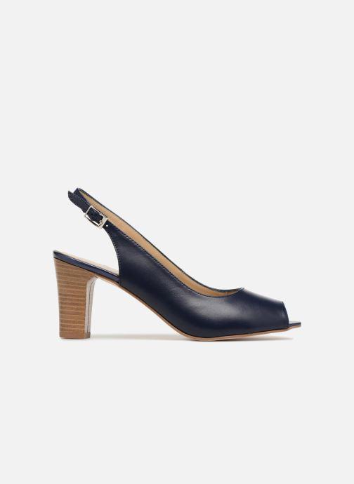 Zapatos de tacón Georgia Rose Soclasse Azul vistra trasera