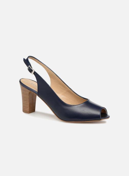 Zapatos de tacón Georgia Rose Soclasse Azul vista de detalle / par