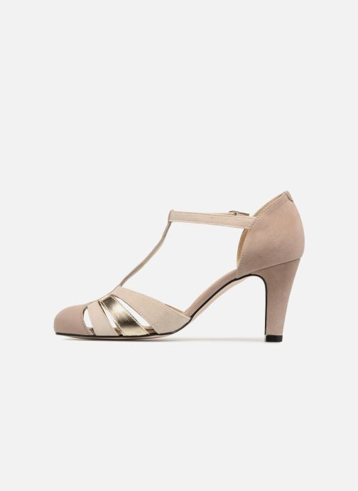 High heels Georgia Rose Solace Beige front view