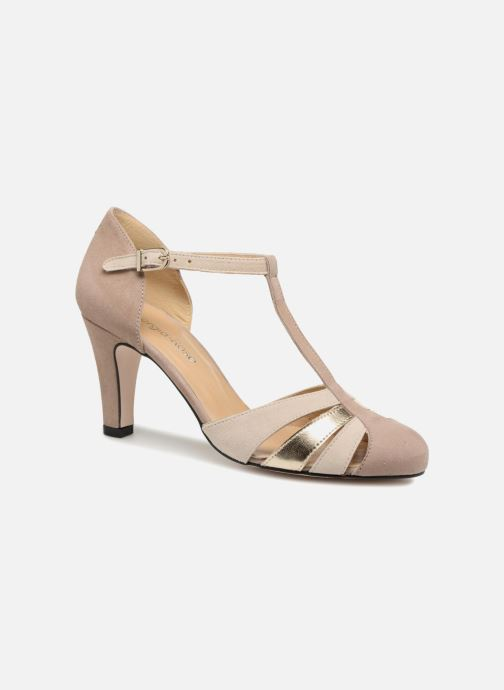 High heels Georgia Rose Solace Beige detailed view/ Pair view