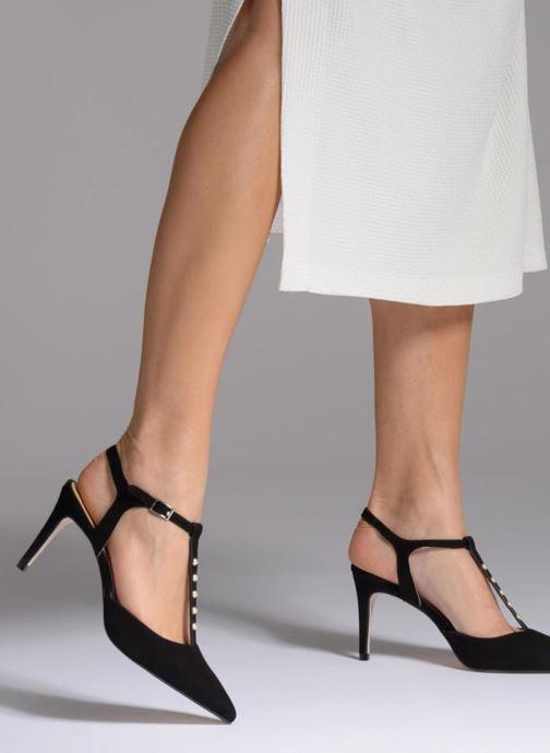 High heels Georgia Rose Soperla Black view from underneath / model view