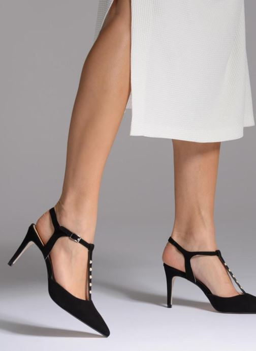 Zapatos de tacón Georgia Rose Soperla Negro vista de abajo