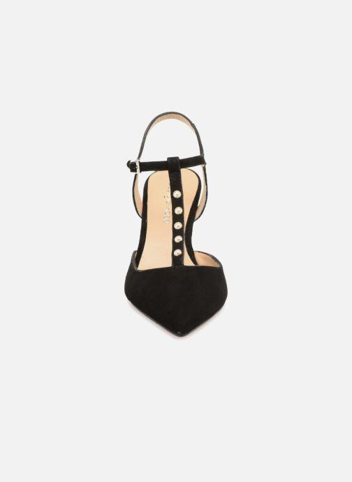 Zapatos de tacón Georgia Rose Soperla Negro vista del modelo