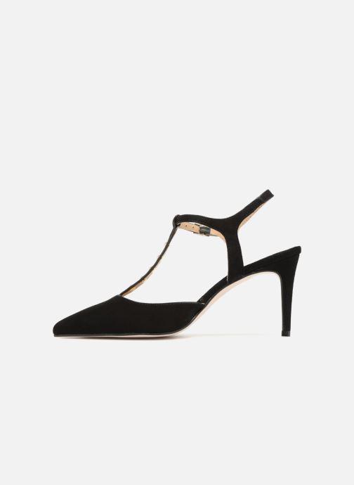 Zapatos de tacón Georgia Rose Soperla Negro vista de frente