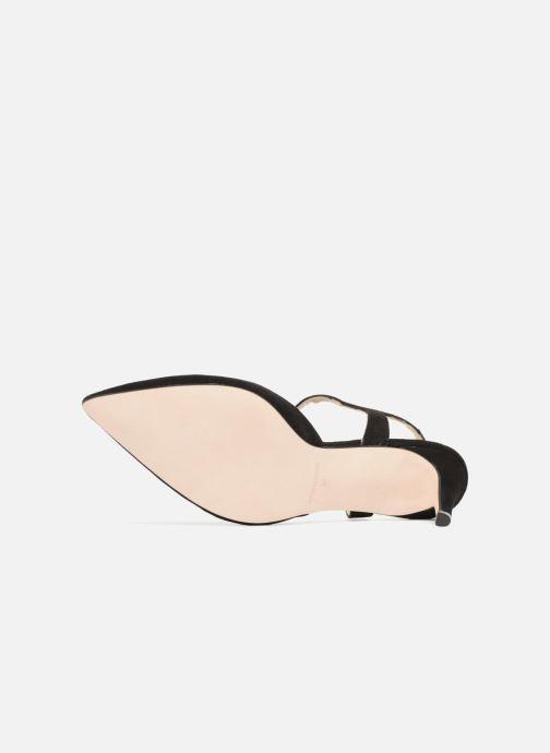 Zapatos de tacón Georgia Rose Soperla Negro vista de arriba