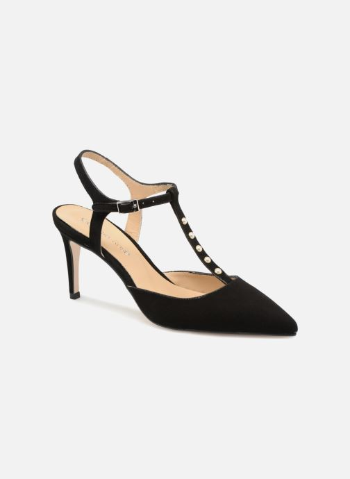 High heels Georgia Rose Soperla Black detailed view/ Pair view