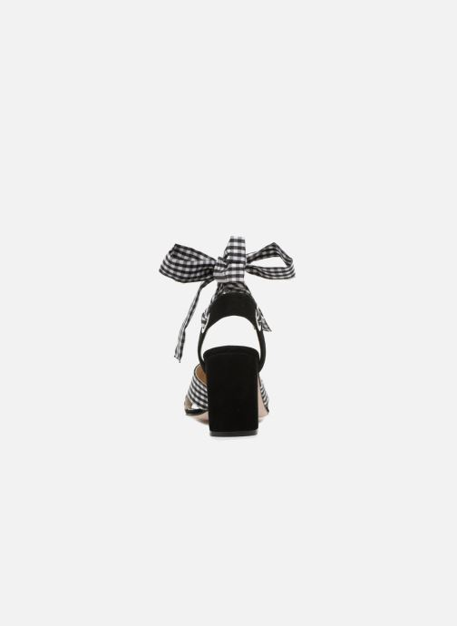 Sandales et nu-pieds Georgia Rose Savichy Noir vue droite