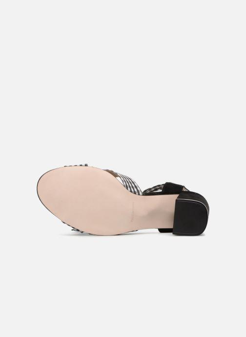 Sandales et nu-pieds Georgia Rose Savichy Noir vue haut